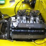 Lotus Eclat engine bay