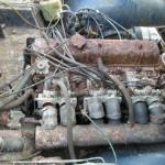 Triumph TR5 Engine bay