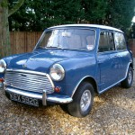 Mini cooper finished in Island Blue