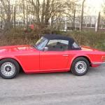 Restored Triumph TR6